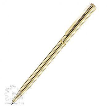 Шариковая ручка «Slim Gold» BeOne, золотистая