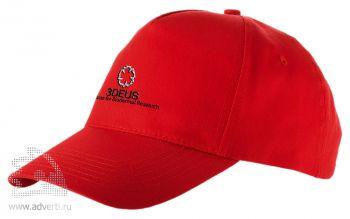 Бейсболка «Memphis», красная