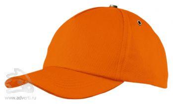 Бейсболка «New York», оранжевая