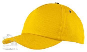 Бейсболка «New York», желтая