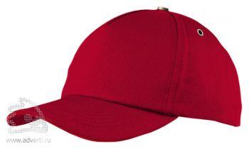Бейсболка «New York», красная