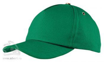 Бейсболка «New York», зеленая