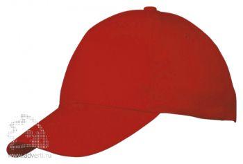 Бейсболка «Memphis», детская, красная