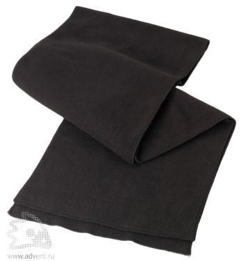 Шарф «Забота», черный