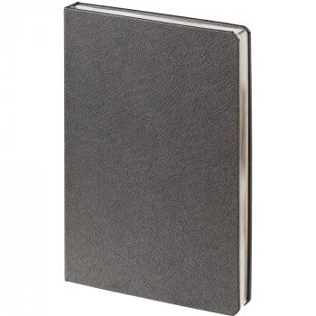 Ежедневник Saffian, недатированный, А5, серый