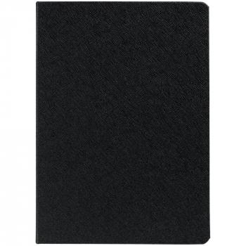 Ежедневник Saffian, недатированный, А5, черный