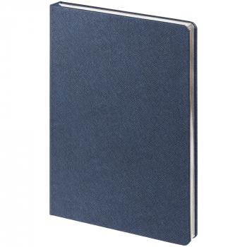 Ежедневник Saffian, недатированный, А5, синий