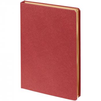 Ежедневник Saffian, недатированный, А5, красный