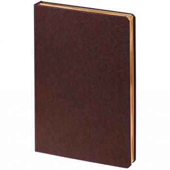 Ежедневник Saffian, недатированный, А5, коричневый