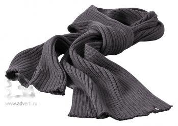 Шарф «Broach», темно-серый