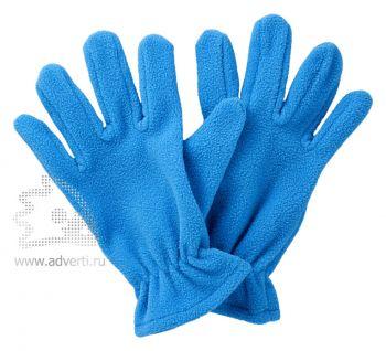 Перчатки флисовые «Buffalo», голубые