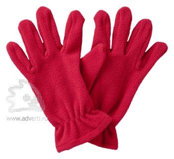 Перчатки флисовые «Buffalo», красные