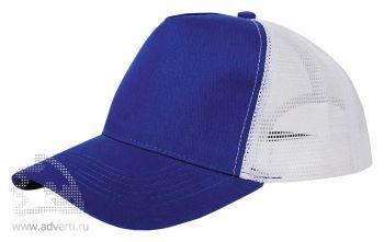 Бейсболка «Mesh», синяя