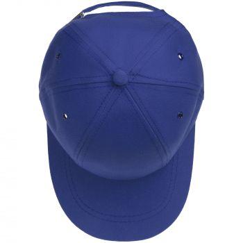 Бейсболка «Bizbolka Capture Kids», детская, ярко-синяя, вид сверху