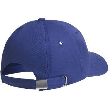 Бейсболка «Bizbolka Capture Kids», детская, ярко-синяя, вид сзади