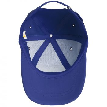 Бейсболка «Bizbolka Capture Kids», детская, ярко-синяя, вид внутри