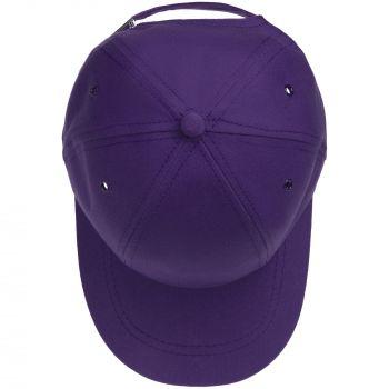 Бейсболка «Bizbolka Capture Kids», детская, фиолетовая, вид сверху