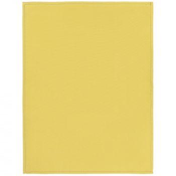 Набор кухонных полотенец «Keep Palms», жёлтые, в развернутом виде