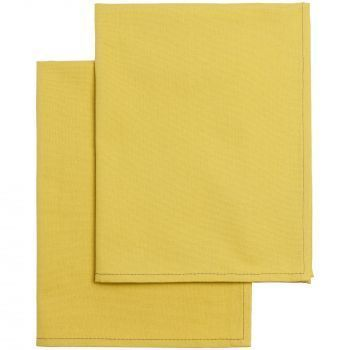 Набор кухонных полотенец «Keep Palms», жёлтые