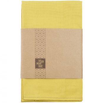 Набор кухонных полотенец «Keep Palms», жёлтые, в упаковке