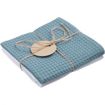 Набор «Cook Eat», полотенца из голубого набора