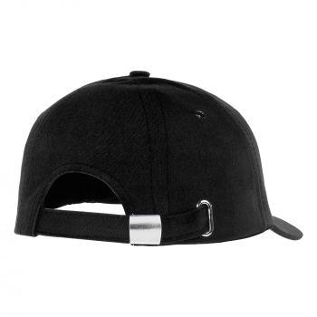 Бейсболка «Bizbolka Capture», чёрная, вид сзади