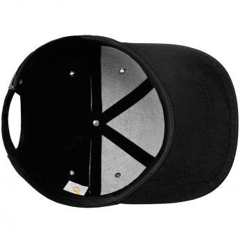 Бейсболка «Bizbolka Capture», чёрная, вид изнутри