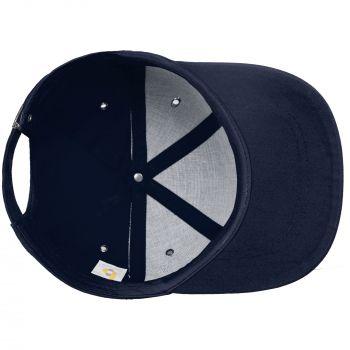 Бейсболка «Bizbolka Capture», тёмно-синяя, вид изнутри
