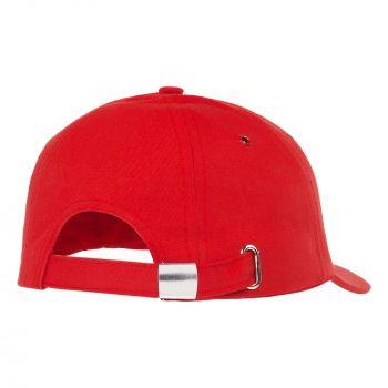 Бейсболка «Bizbolka Capture», красная, вид сзади