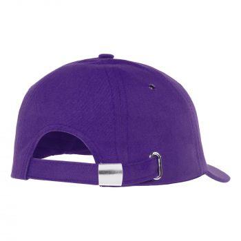 Бейсболка «Bizbolka Capture», фиолетовая, вид сзади