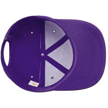 Бейсболка «Bizbolka Capture», фиолетовая, вид изнутри