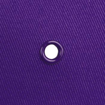 Бейсболка «Bizbolka Canopy», фиолетовая с белым, люверс