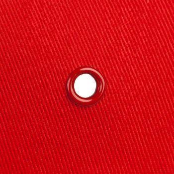 Бейсболка «Bizbolka Honor», красная с белым, люверс