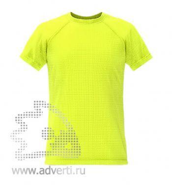 Футболка под сублимацию «Stan Print», мужская, желтая