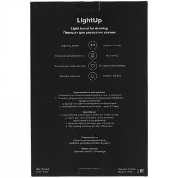 Планшет для рисования светом «LightUp», упаковка с другой стороны