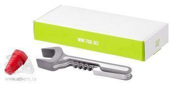 Подарочный набор для вина «Turi» с коробкой