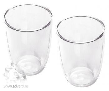 Набор «Boda»: два стакана с двойными стенками