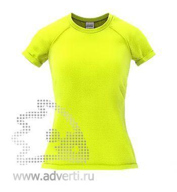 Футболка под сублимацию «Stan Print W», женская, желтая