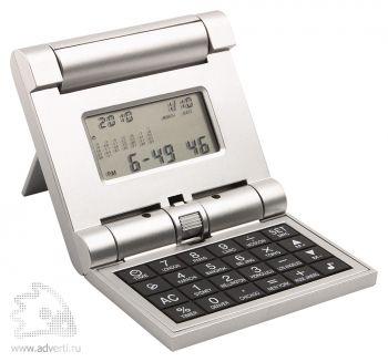 Калькулятор с мировым временем