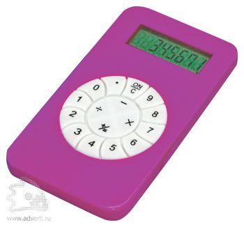 Калькулятор «Техно», розовоый