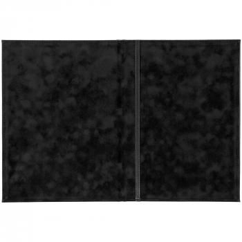 Папка адресная «Nebraska»,А4, черная, открытая