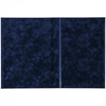 Папка адресная «Nebraska»,А4, синяя, открытая
