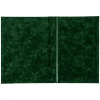 Папка адресная «Nebraska»,А4, зеленая, открытая