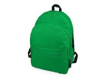 Рюкзак «Trend» с 2 отделениями на молнии и внешним карманом, зеленый