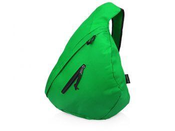 Рюкзак «Brooklyn» на одно плечо, зеленый