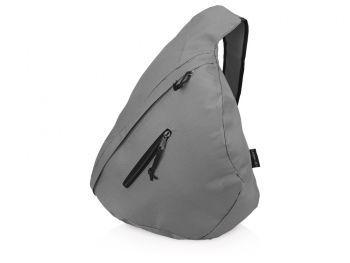 Рюкзак «Brooklyn» на одно плечо, серый