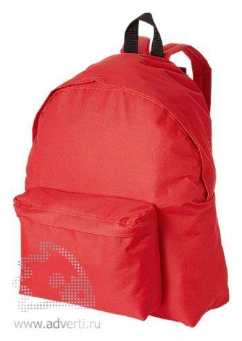 Рюкзак «Urban», однотонный, красный