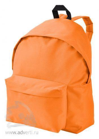 Рюкзак «Urban», однотонный, оранжевый