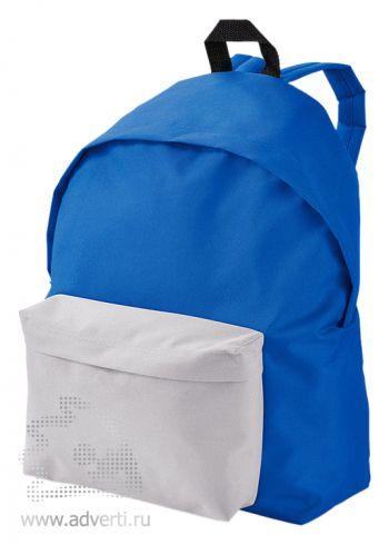 Рюкзак «Urban», двухцветный, синий с белым