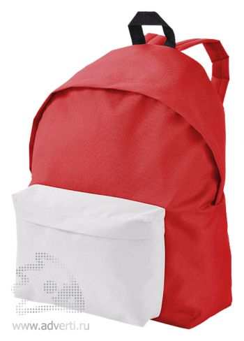 Рюкзак «Urban», двухцветный, красный с белым
